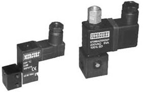ritters mercury product Pneumatic Valves